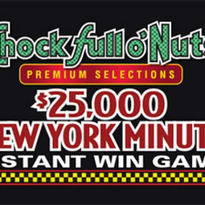 Chock full o nuts coffee sweepstakes