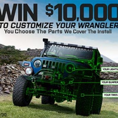 Win $10K in Jeep Customizations