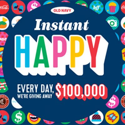 Old Navy: Win $100k