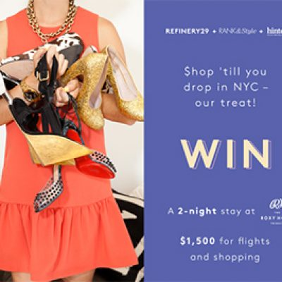Win a Shopping Spree in NYC