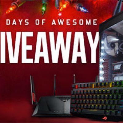 Win a Custom Asus PC & More