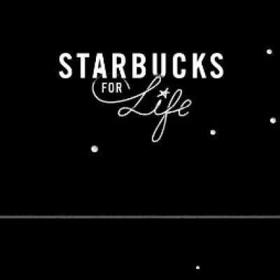 Win Starbucks For Life