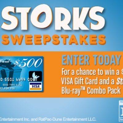 storks win a 500 visa gift card - 500 Visa Gift Card