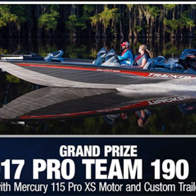 Bass Pro: Win a Tracker Pro Team Boat & Trailer
