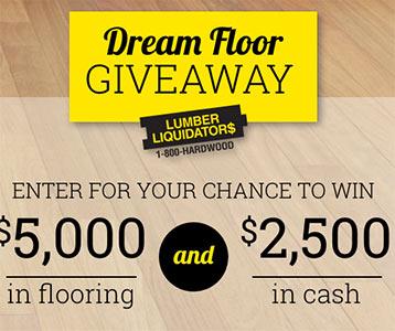 Win 5k In Flooring Cash Sweep Geek