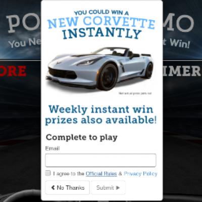 Win a 2018 Chevrolet Corvette