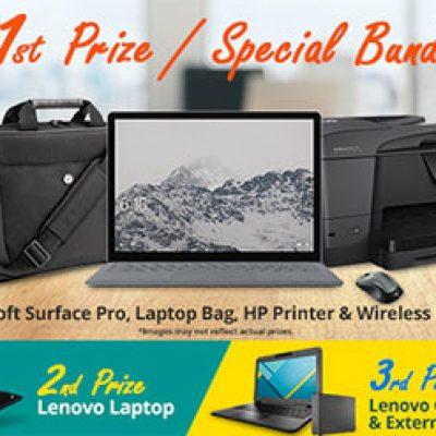 Win a Microsoft Surface Pro Bundle