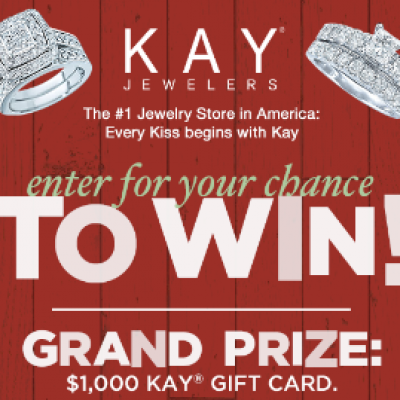 Win a $1K Kay Jewelers Gift Card