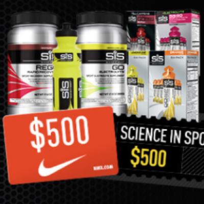 Win a $500 Nike Gift Card