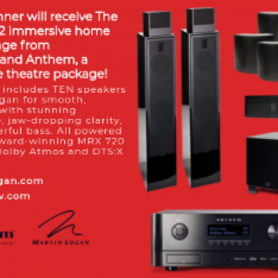 Win a Home Theater System