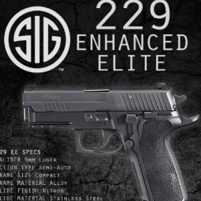 Win a Sig Sauer P229 Pistol