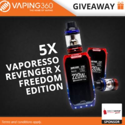 Win a Vaporesso Revenger Vape Kit