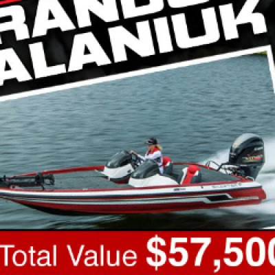 Win a Bass Boat & Prize Pack