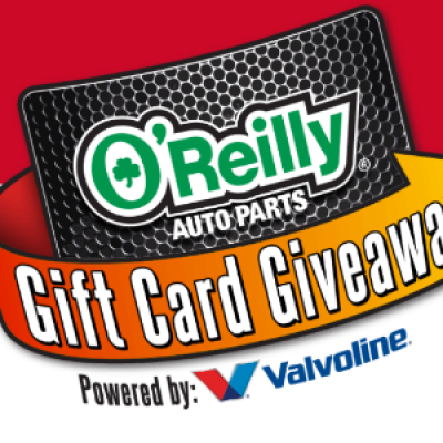 Win 1 of 500 O'Reilly Gift Cards Daily