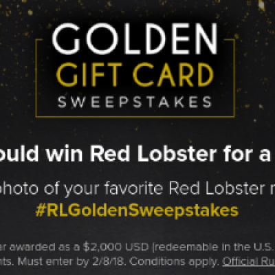Win a $2K Red Lobster Gift Card