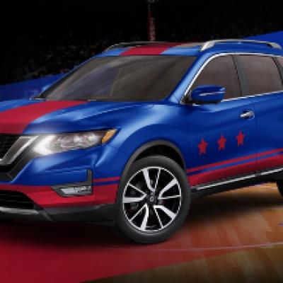 Win a Custom Nissan Rogue