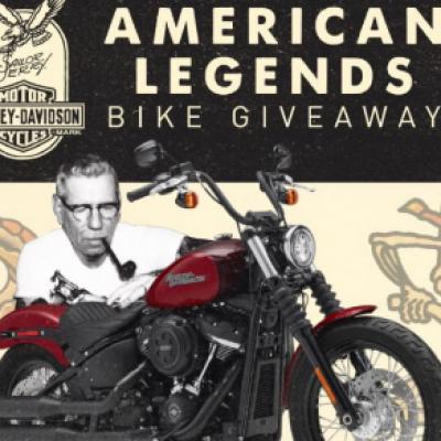 Win a Custom Harley-Davidson