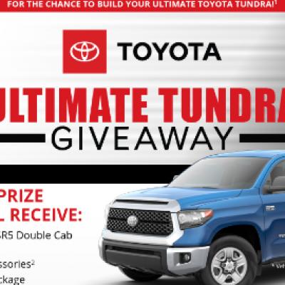 Bassmaster: Win a Toyota Tundra