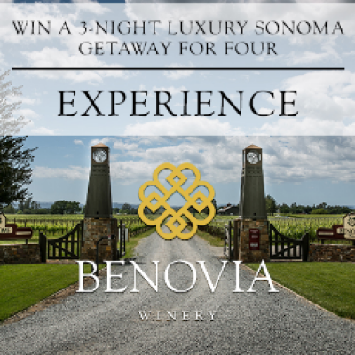 Win a Luxurious Sonoma Getaway