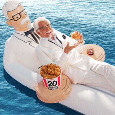 Win a KFC Floatie