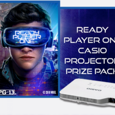 Win a Casio Projector Prize Pack
