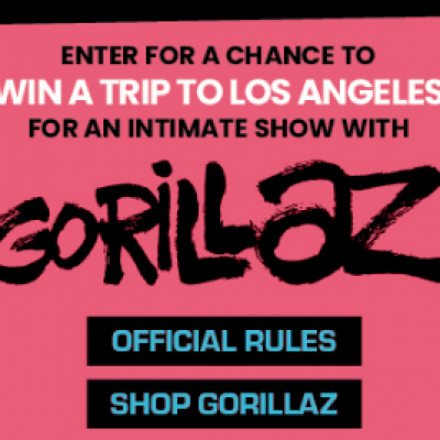 Win a Trip to see Gorillaz in LA