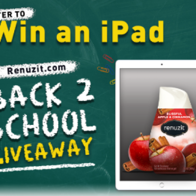 Renuzit: Win 1 of 15 iPads