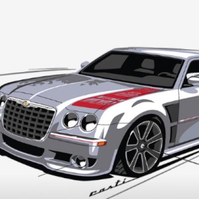 Win a Custom Chrysler 300C SRT8