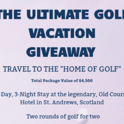 Win a Golf Vacation in Scotland