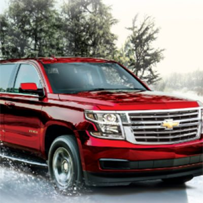 Win a Chevy Tahoe, Malibu or Silverado