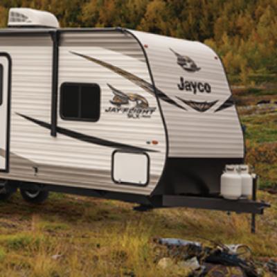 Win a Jayco Jayflight Travel Trailer