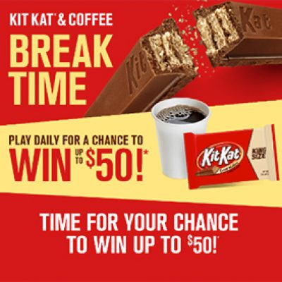 Kit Kat: Instantly Win Up To $50
