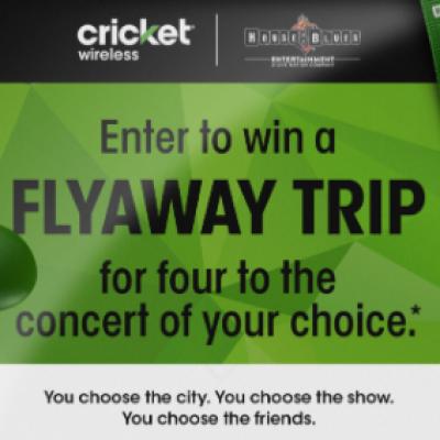 Win a Flyaway Trip to a Concert