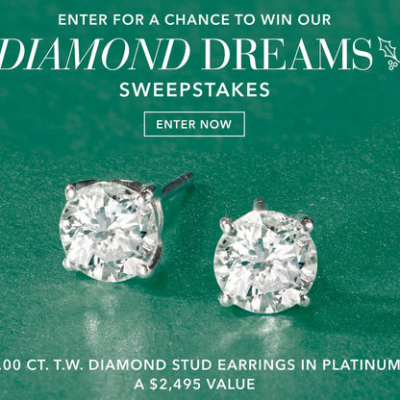 Win Diamond Stud Earrings from Ross Simmons