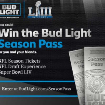 Bud Light: Win NFL Season Tickets & More
