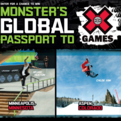 Win a Trip to X Games