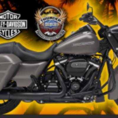 Win a 2018 Harley-Davidson Motorcycle